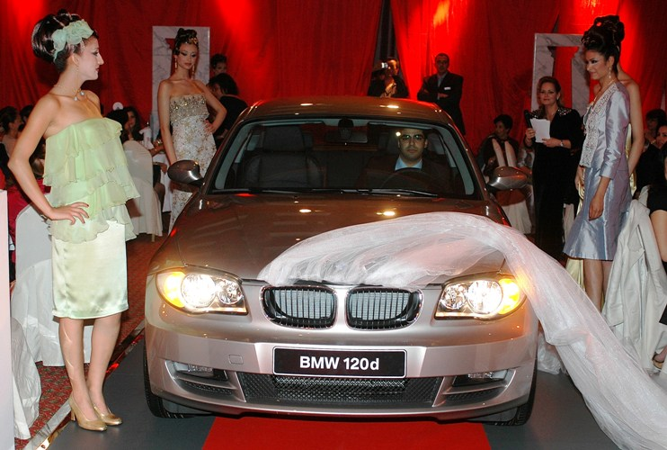 Defile de mode BMW